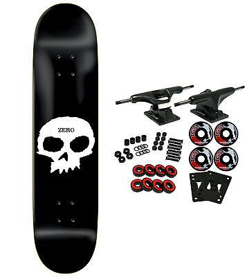 ZERO Skateboard Complete SINGLE SKULL 8.0