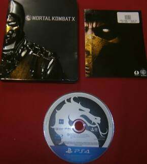 MORTAL KOMBAT X SPECIAL EDITION STEELBOOK PS4 GAME Miller Liverpool Area Preview