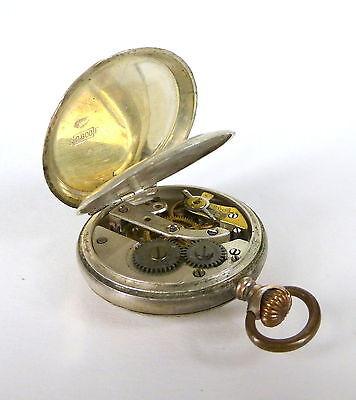 Taschenuhr Uhr Silber um 1900
