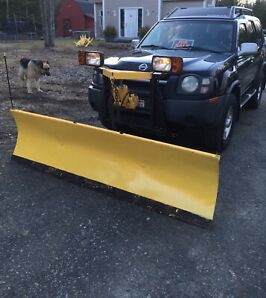 04 Nissan Xterra with or without plow!