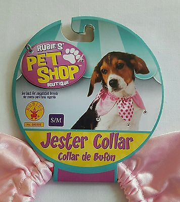 "Rubie's Pet Shop Boutique ""Jester Collar"" size S/M](Jesters Costume Shop)"