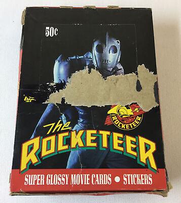 Trade Full Movie (1991 Topps ROCKETEER movie trading cards ~ FULL BOX, 36 SEALED)
