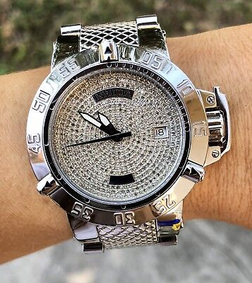 INVICTA 17652 42mm SUBAQUA NOMA III 1.93CTW DIAMOND SWISS QUARTZ WATCH! RARE!