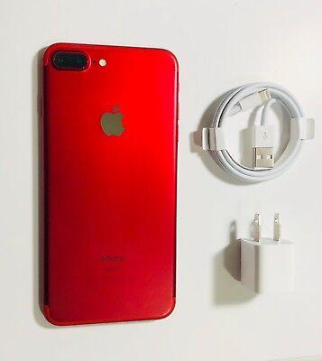(Apple iPhone 7 Plus (PRODUCT)RED - 128GB A1661 (CDMA+GSM) UNLOCKED )