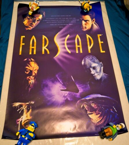 Farscape poster 24x36 (2000) from England RARE