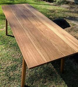Spotted gum dining table Blackburn Whitehorse Area Preview