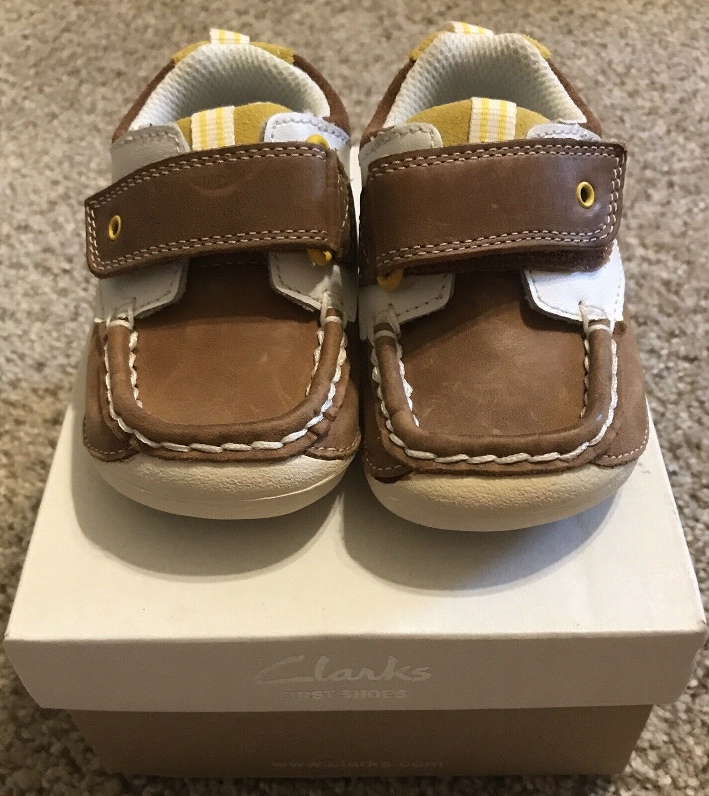 Clarks Cruisers Baby Boy Shoes Size 4 1/2