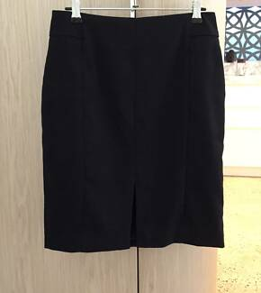 Black H&M Work Skirt US8 / EU 38