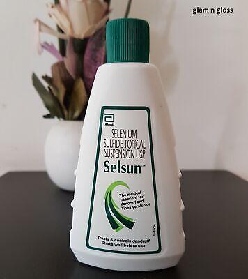2 bottles x 120 ml. Selsun Treatment Shampoo