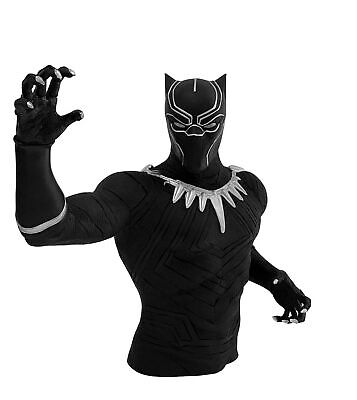 """Marvel Black Panther Bust Bank Action Figure Multi-colored, 4"""""""