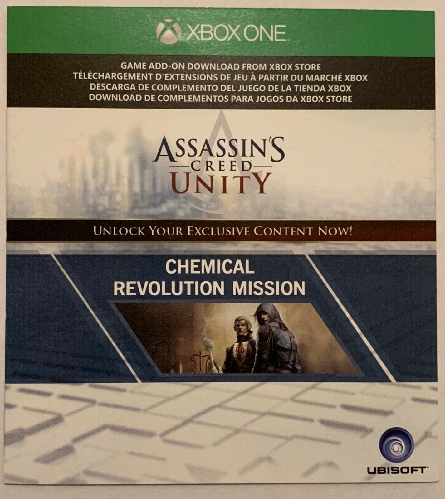 Assassins Creed Unity Chemical Revolution DLC Xbox One X1