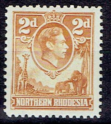Northern Rhodesia 1938 sg31 2d Yellow-Brown MNH