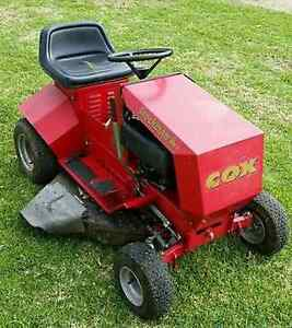 WANTED to buy Cox or Greenfield Ride on Mower Two Wells Mallala Area Preview