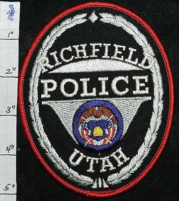 UTAH, RICHFIELD POLICE DEPT PATCH