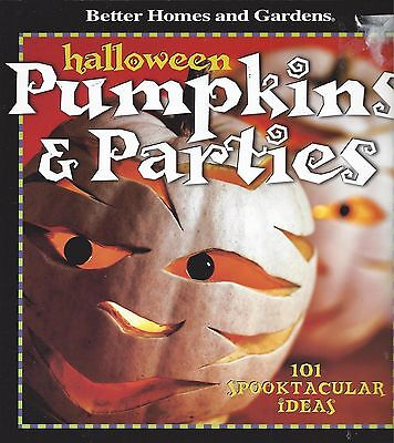 HALLOWEEN PUMPKINS & PARTIES ~ BETTER HOMES AND GARDENS - 101