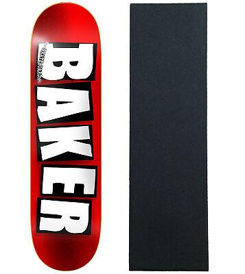 BAKER Skateboard Deck BRAND LOGO FOIL 8.0' With Griptape BRAND NEW IN SHRINK