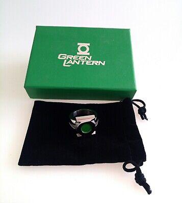 Green Lantern Ring - Replica Metall limitierte Auflage  neu ovp.