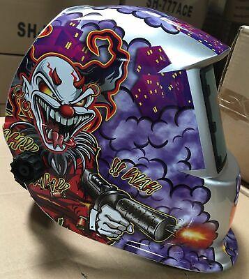 Hgn Solar Auto Darkening Weldinggrinding Helmet Certified Hood Mask