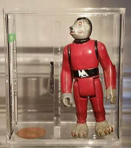 Vintage Star Wars Snaggletooth AFA 70 MINT! Heathridge Joondalup Area Preview