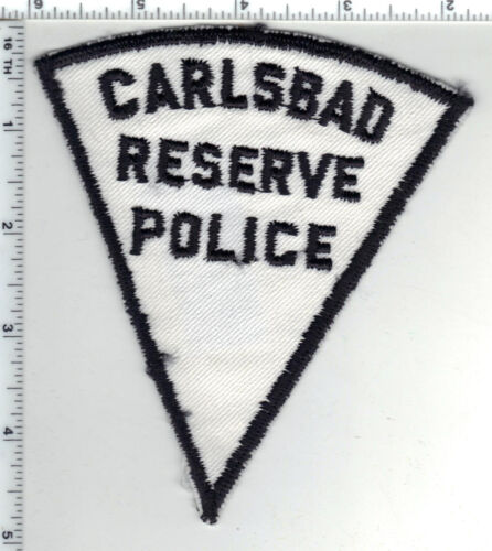 Carlsbad Reserve Police (New Mexico) Shoulder Patch - new from the Early 1980