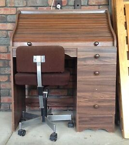 Bureau Writing Desk and Chair Hallett Cove Marion Area Preview