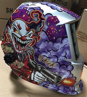 HGN New Mask Solar Auto Darkening Welding/grinding  Helmet  certified hood