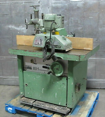 Wadkin Bursgreen Ber 4 Spindle Moulder Wood Shaper W Holzher Et-117 Powerfeeder