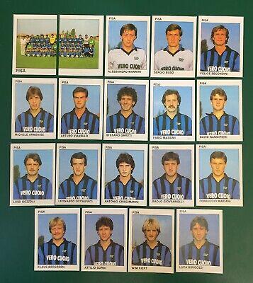 LOTTO DI 19 FIGURINE ALBUM CALCIATORI CALCIO FLASH 84 1983-84 PISA COMPLETA