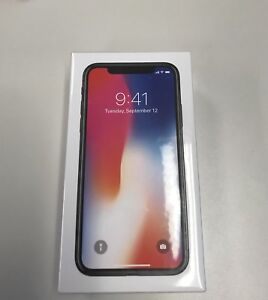 IPHONE X 256gb (BRAND NEW IN THE BOX)