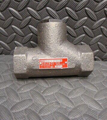 DIXON DFVS60 6 inch Cast Iron Threaded Foot Valve