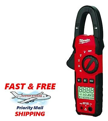 Milwaukee Cat Iii 600v Acdc 400 Amp Heavy Duty True-rms Clamp Meter 2235-20