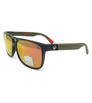 DRAGON Sunglasses ROADBLOCK H2O 043 H2o Grey Rectangle Men (H2o Sunglasses)