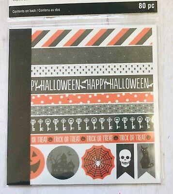 Halloween Washi Tape Stickers Papercraft Scrapbook Planner Supply Borders Cards](Halloween Papercraft)