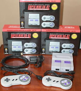 Brand New HDMI 821 Game 8 Bit Console with 2 Controllers