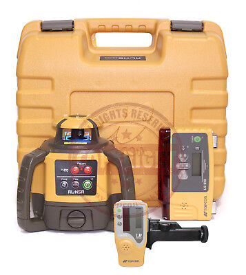 Topcon Rl-h5a Ls-b10 Self-leveling Rotary Grade Laser Level Slope Transit