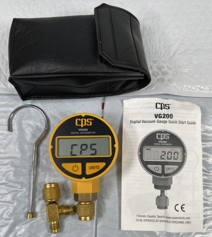 CPS VG200: Vacuum Gauge with Digital LCD Display