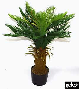 Artificial Plant LARGE 90cm Tropical Cycas Palm Type Tree Realistic #N0005