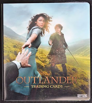 Cryptozoic Outlander Complete Mini-Master Set Chase Binder M37 B1 Trading Cards