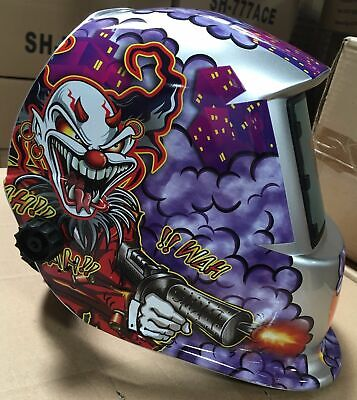 Hgn Solar Auto Darkening Welding Grinding Helmet Hood Mask