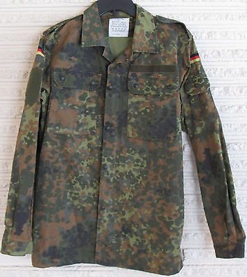 GERMAN ARMY MILITARY FLECKTARN CAMO BDU UNIFORM JACKET SHIRT SIZE GR12 LARGE