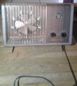 Vintage. Torcan combination  1500 watt fan heater (read full ad)
