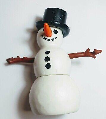 PLaymobil figuras. Muñeco de nieve completo.