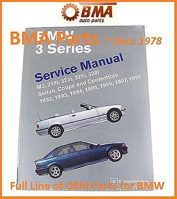 NEW E36 3 Series BMW Bentley Repair Manual M3,318,323,325 & 328 B398 / BM8000398