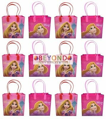 Rapunzel Tangled Goody Bags, Party Favor Goodie Bags Gift Bags Birthday - Rapunzel Favors