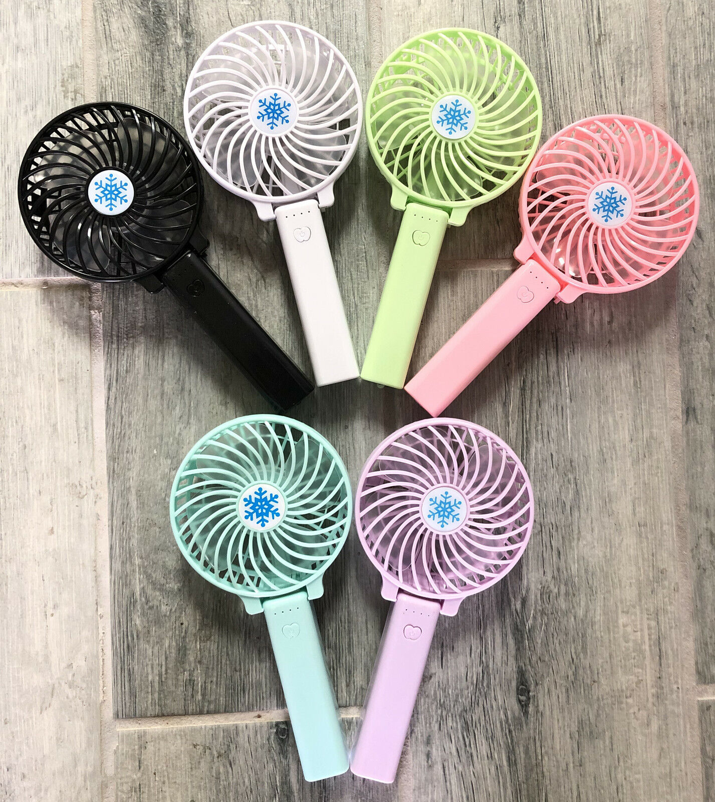 New Portable Rechargeable Fan Pocket Size Air Cooler Mini US