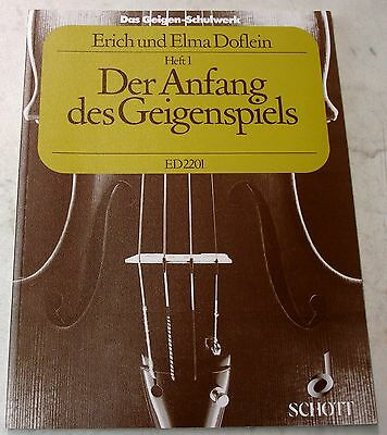The Doflein Method Volume 3 Doflein Erich violin 97900010548 Doflein Elma