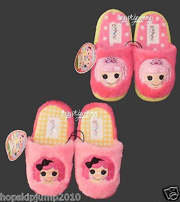 LALALOOPSY SLIPPERS Jewel Sparkles & Crumbs Sugar Cookie Girls Sz 13/1 2/3~NWT ()