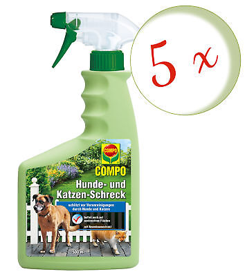 Savings Set: 5 x Compo Dogs- and Katzen-Schreck, 500 ML