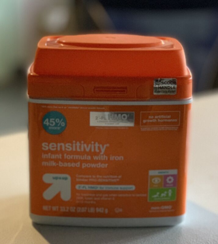 Up & Up Sensitivity Infant Formula with Iron Milk-Based Powder 33.2oz (2.07 lb)