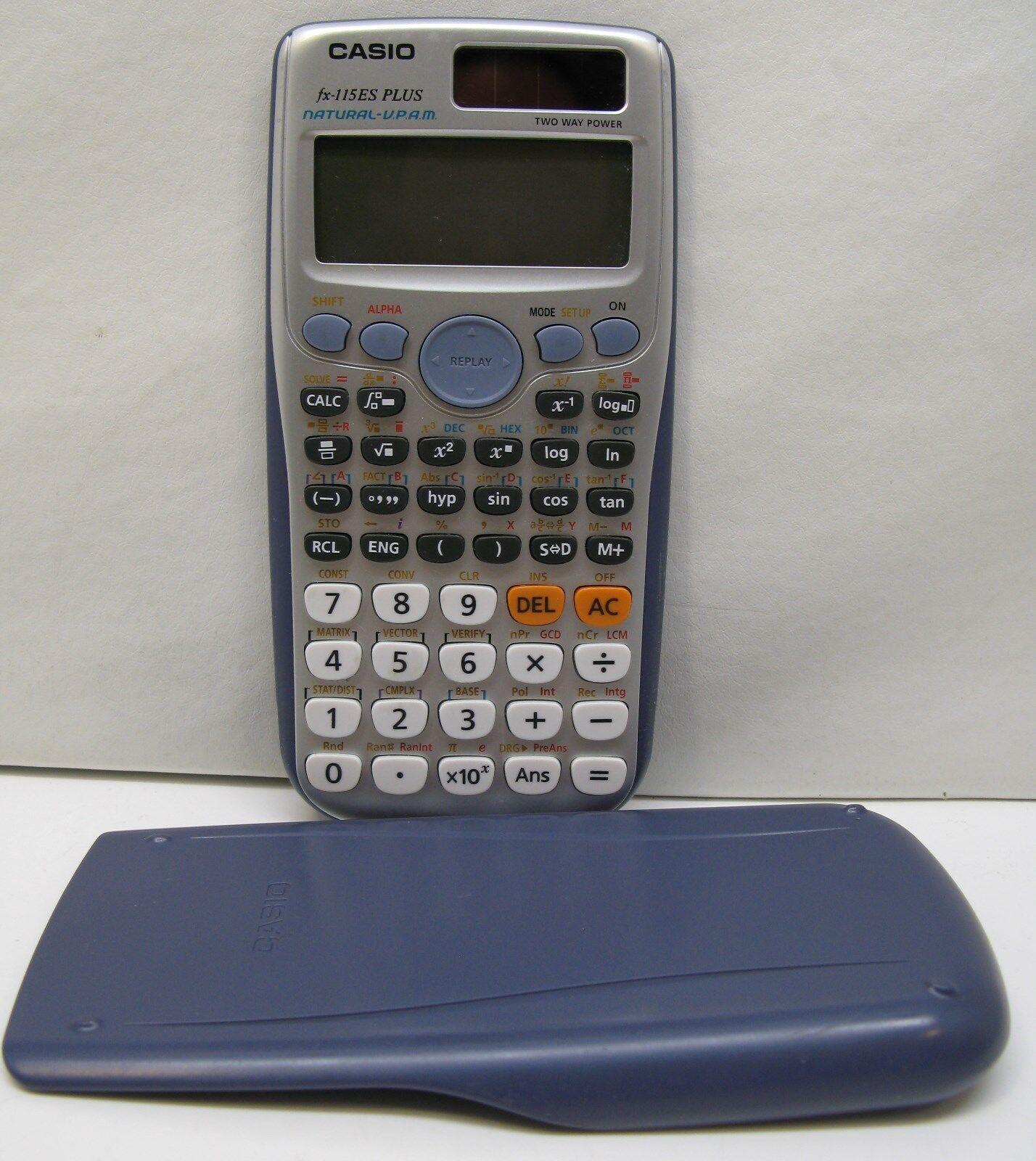 Casio FX-115ES PLUS Scientific Calculator *Very Nice*